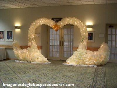 decoracion con globo para boda imagenes