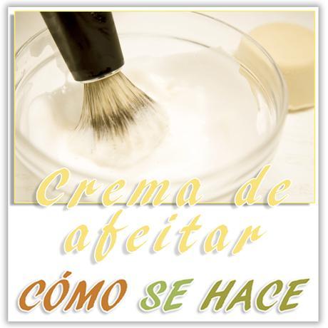 Crema de afeitar casera