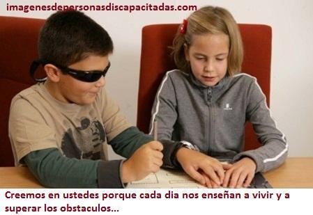 frases para personas ciegas discapacidad