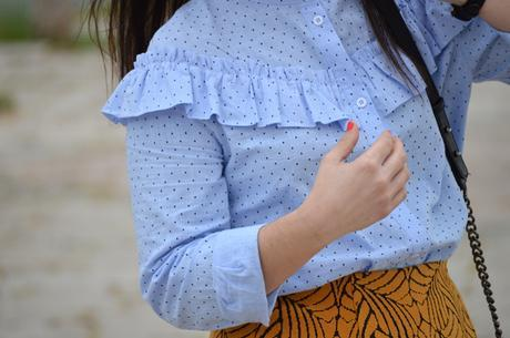 Outfit   Baby blue shirt