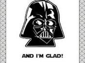 Tarjeta Padre Darth Vader para papás fans Star Wars