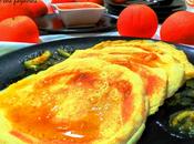 Pancakes anís salsa naranja