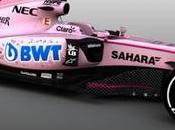 Force India cambiará color VJM10 rosado mate