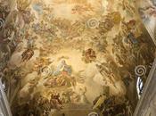 pintor napolitano, punto morir cardenal. Luca Giordano pinturas fresco sacristía catedral Toledo