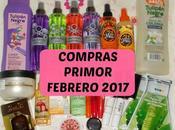 Compras Primor Febrero 2017.