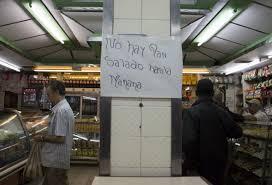"""#Venezuela está enfrascada en """"la guerra del #pan"""""""