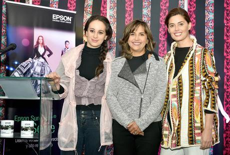 Feria Xpotex presentó trajes sublimados del New York Fashion Week de Epson