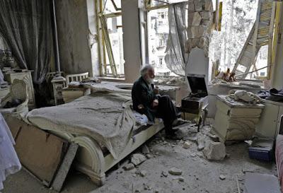 La fotografía de la guerra de Siria que emociona en las redes sociales