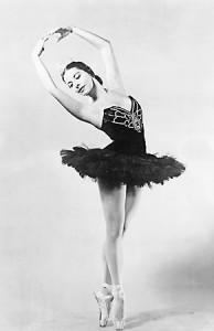 Zapatillas de ballet que dibujan