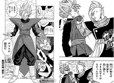 Resumen del manga DRAGON BALL SUPER 22