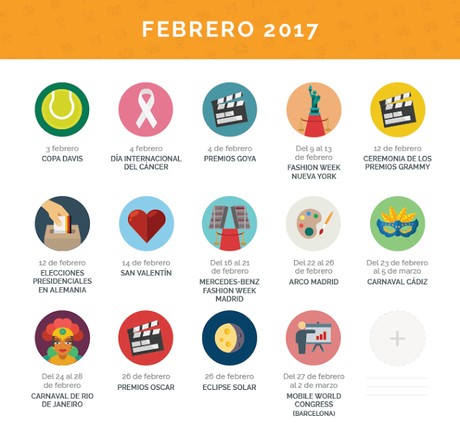 Un calendario editorial para mantenerte al día