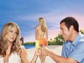 Adam Sandler, Jennifer Aniston Madrid presentando Sígueme Rollo