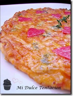 Pizza Tres Quesos San Valentín