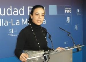 Pilar Zamora, portavoz del Grupo Municipal Socialista