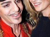 Kate Moss elige John Galliano para diseñe vestido novia
