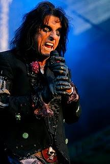 ALICE COOPER  al Rock and Roll Hall of Fame