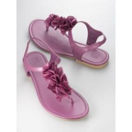 Women's Chiffon Flower Sandal by New York & Company