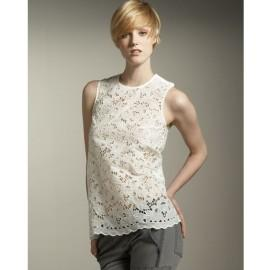 Women's Stella McCartney Racerback Lace Blouse
