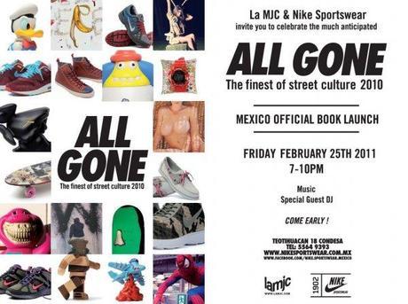 Hoy Lanzamiento del  Libro All Gone @ Nike Sportswear