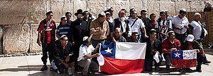 Mineros chilenos dan gracias a Dios en Jerusalén