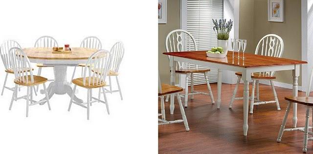 T preguntas mesa blanca con sobre de madera paperblog for Mesas de comedor madera blanca