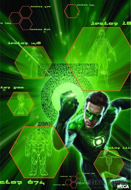 Remesa de carteles de 'Green Lantern'