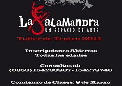 Talleres de Teatro 2011