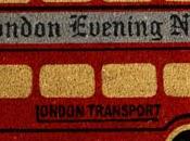 Felpudos originales: autobus londres