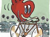 Carteles ilustradores para promover bici ciudades