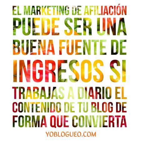 Que es el marketing de afiliación y como sacarle el jugo a tu blog con el
