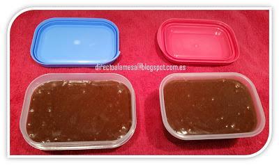 Crema de cacao casera (nuestra Nocilla o Nutella)