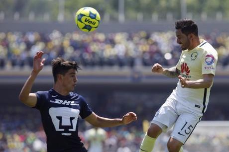 Pumas pierde 2-3 ante el América en la J13 del Clausura 2017