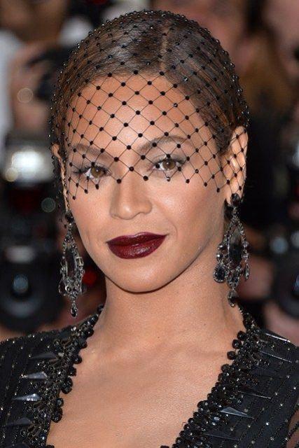 Headpice net celebrity style  Beyonce