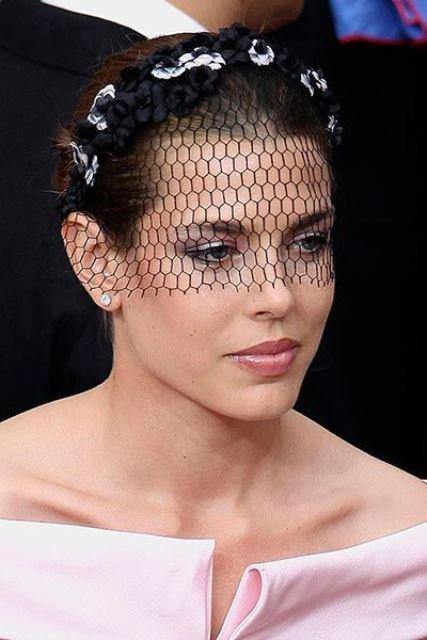 Headpice net celebrity style