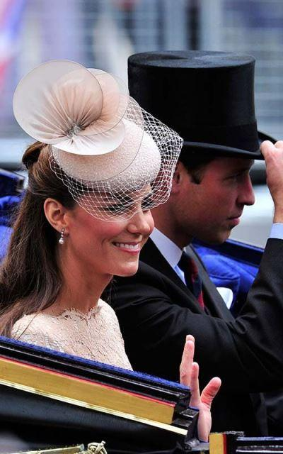 Headpice net celebrity style  Beyonce Kate Middleton
