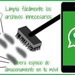Cómo limpiar los archivos innecesarios de  WhatsApp para liberar espacio en tu móvil