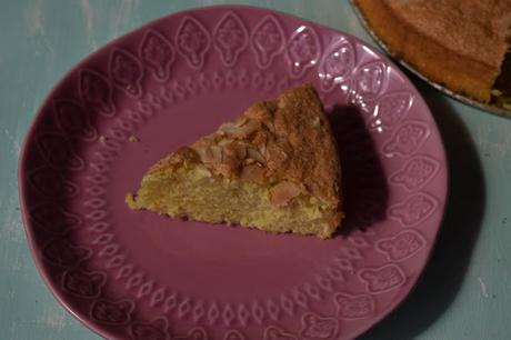 Bizcocho de Almendra y Mandarina Sin Gluten y Sin Lactosa