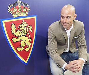 César Lainez, nuevo entrenador del Real Zaragoza