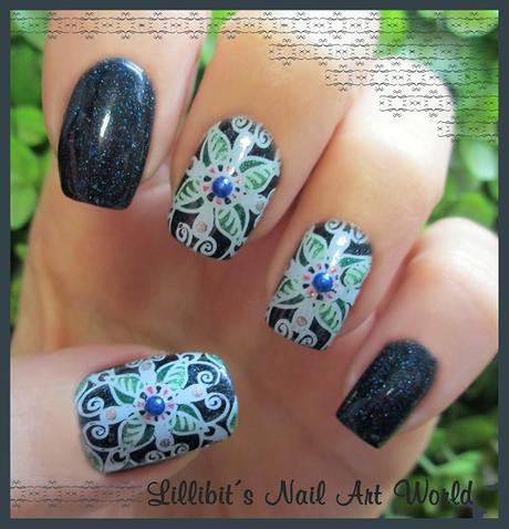 Manicura con la placa BP-L052 de Born Pretty Store