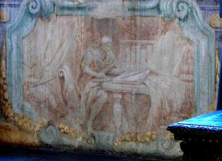 Otros dos geómetras en el Palacio Médici-Riccardi de Florencia