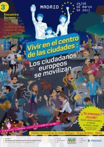 Asociaciones de vecinos de 70 ciudades europeas nos reuniremos para tratar las problematicas en los Cascos Históricos