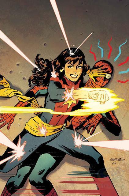 Mary Jane toma las portadas de Marvel en el mes de junio