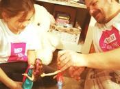 papás también juegan muñecas