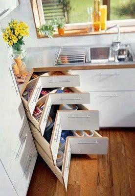 Inspiración: ideas para cocinas pequeñas - Paperblog