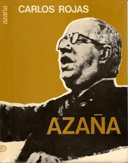 Novela Historica sobre Manuel Azaña Díaz.