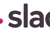 Slack para gestionar equipo inmobiliario.