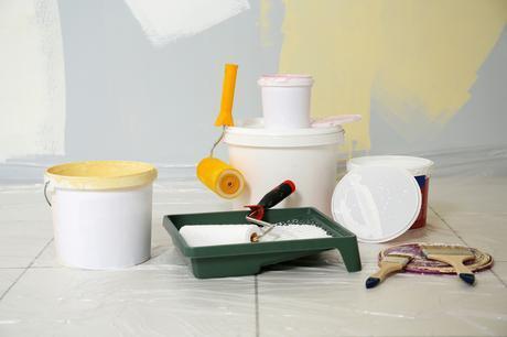 Tipos de pintura para decorar la casa