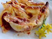Conchas pasta rellenas carne Conchiglioni ripieni