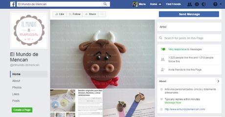 el mundo de mencan facebook maria en la red