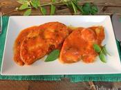RECETA Emperador salsa tomate albahaca